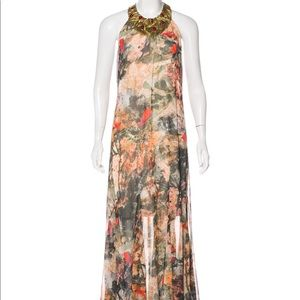 Alice+Olivia jungle maxi dress